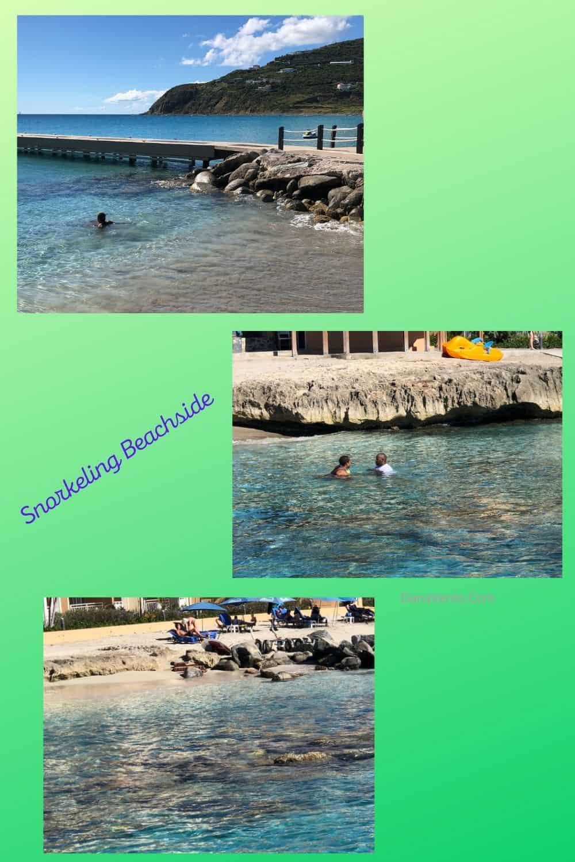 Snorkeling Beachside divi little bay resort romps