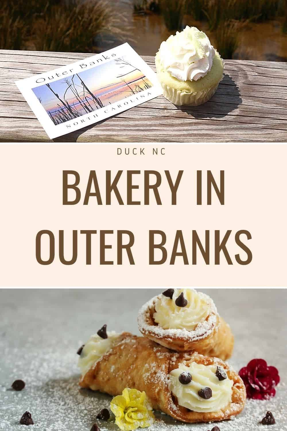 bakery in outer banks cupcake and cannoli