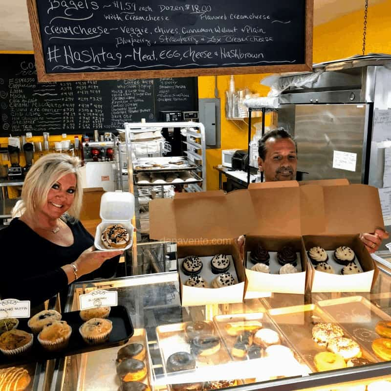 Dawn and Tom of Tullio's Bakery in the Outer Banks