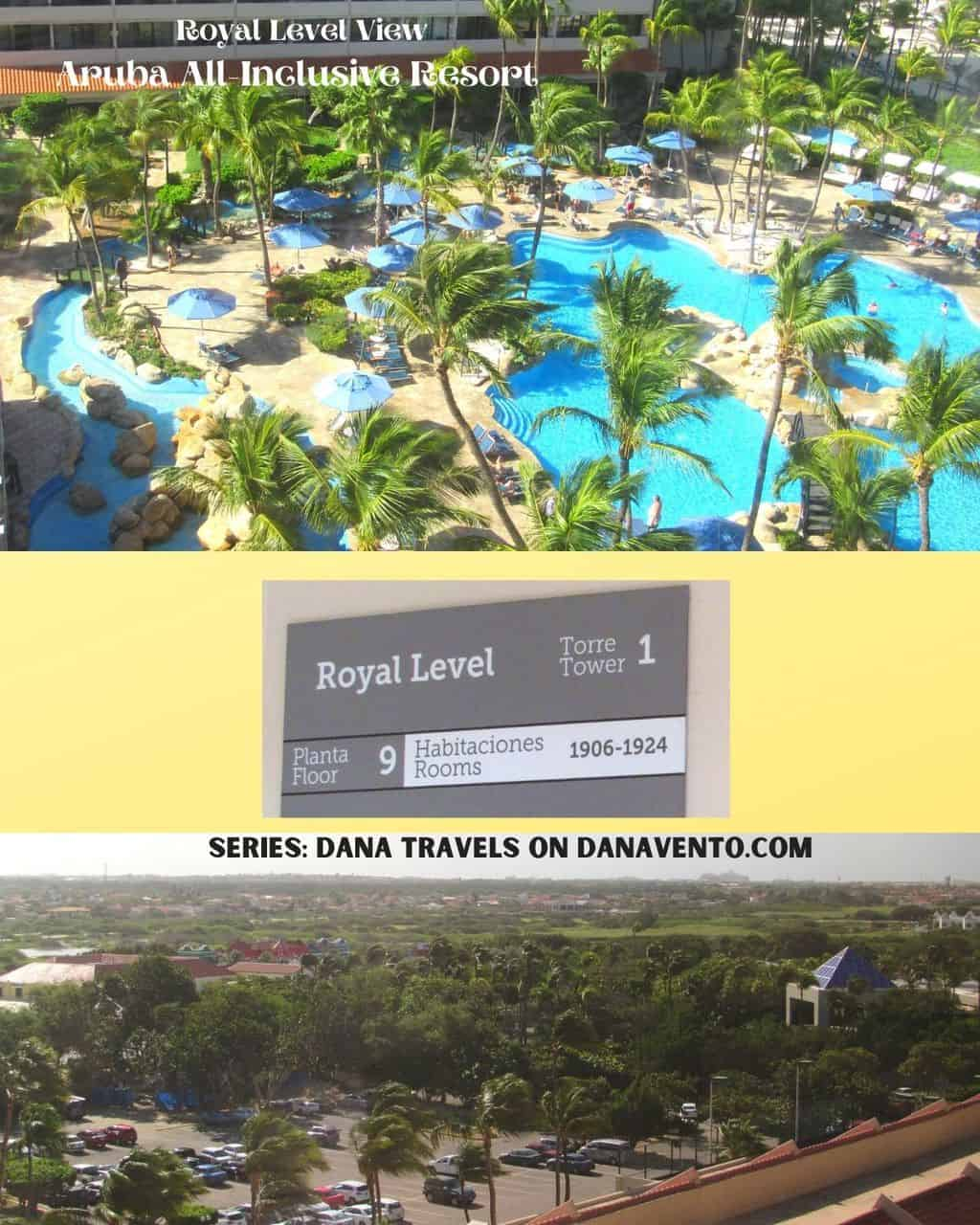 5 star boutique hotel Royal Level Aruba views from within