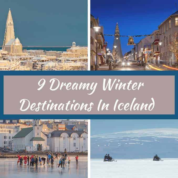 9 dreamy winter destinations in iceland