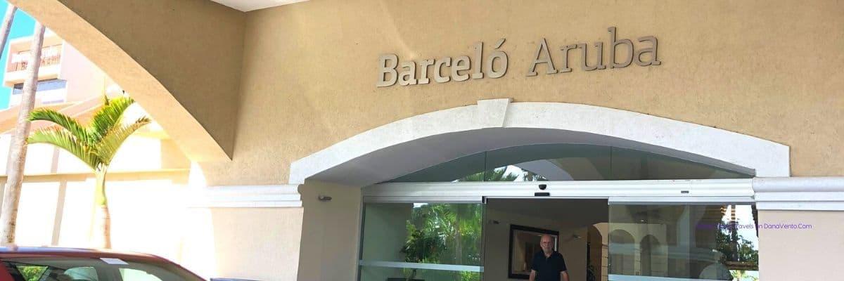 Barcelo Aruba Front Entrance