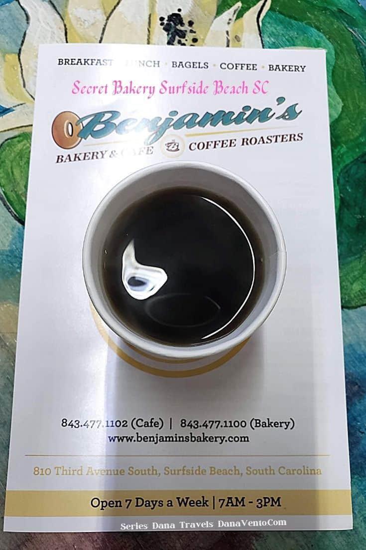Benjamins bakery Fresh Roasted Coffee