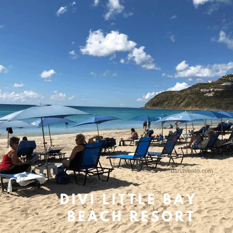 Beach time at Divi Little Bay Beach