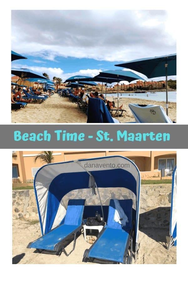 Beach cabanas and umbrellas! Suck up free Vitamin D!