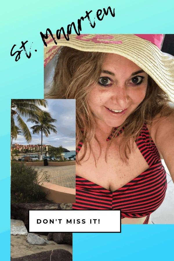 St. Maarten All-Inclusive Resort Dana Dressed for beach