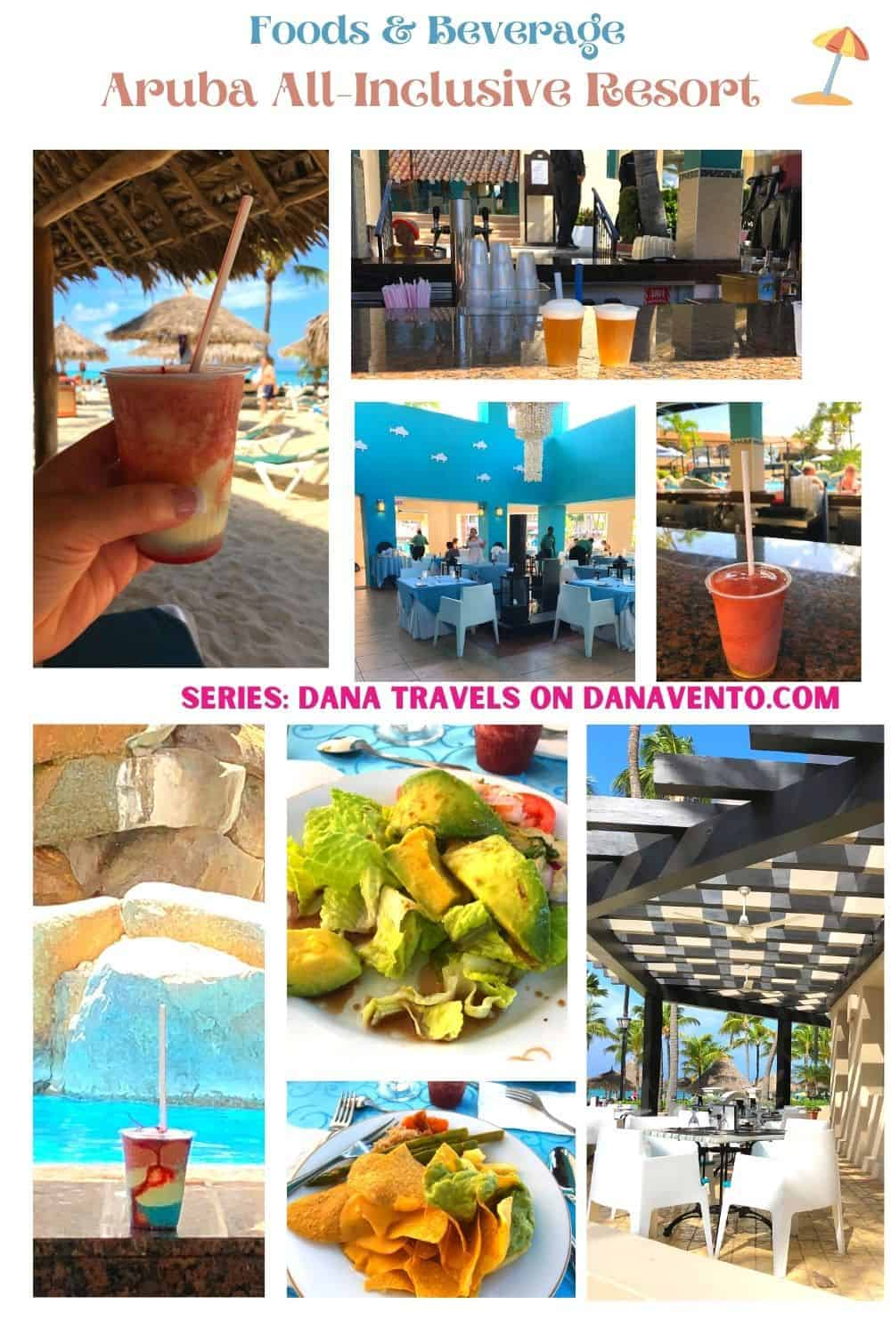 Foods Beverages at All Inclusive Aruba Resort on Palm Beach