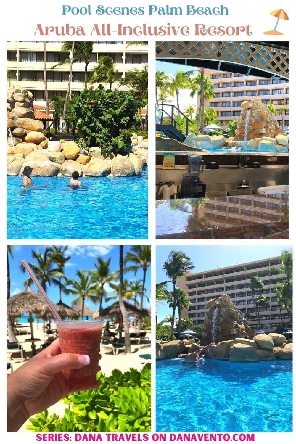 Pool Scenes at All Inclusive Aruba Resort on Palm Beach: Affordable & Luxurious
