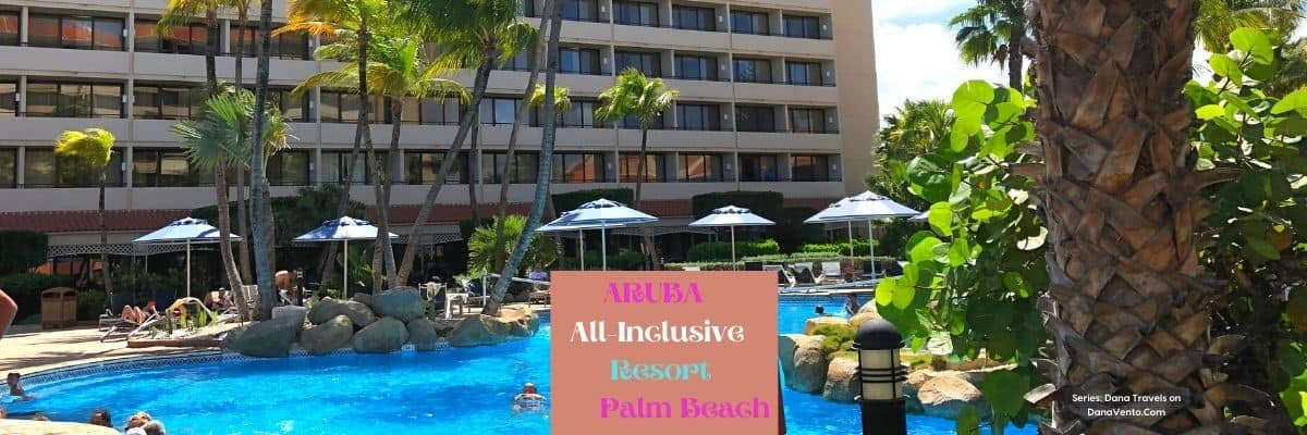 Poolside at all Inclusive Aruba Resort on Palm Beach