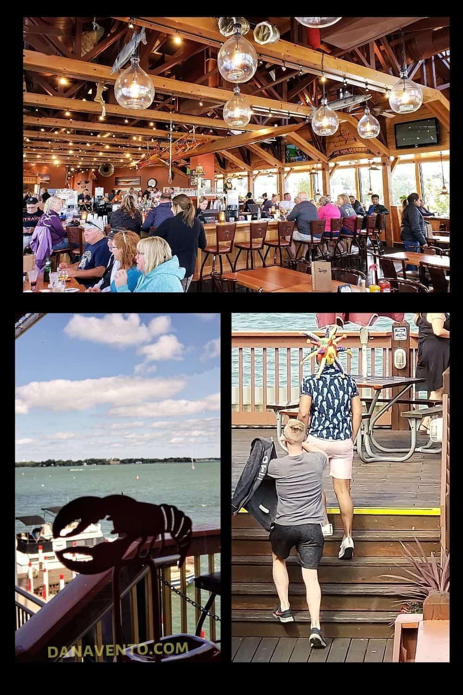 Put In Bay Boardwalk Eatery Upper Deck Inside