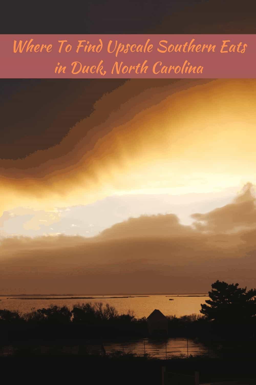 sunsets in Duck, North Carolina