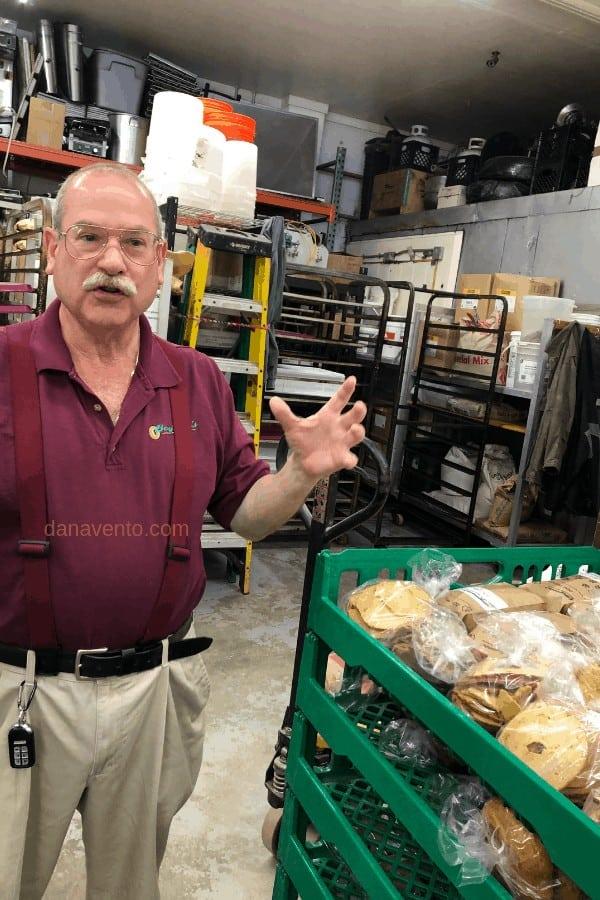 Owner of the Secret Bakery in Surfside Beach SC - Lee