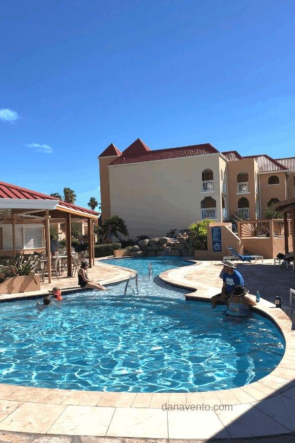 Seabreeze pool at Divi resorts