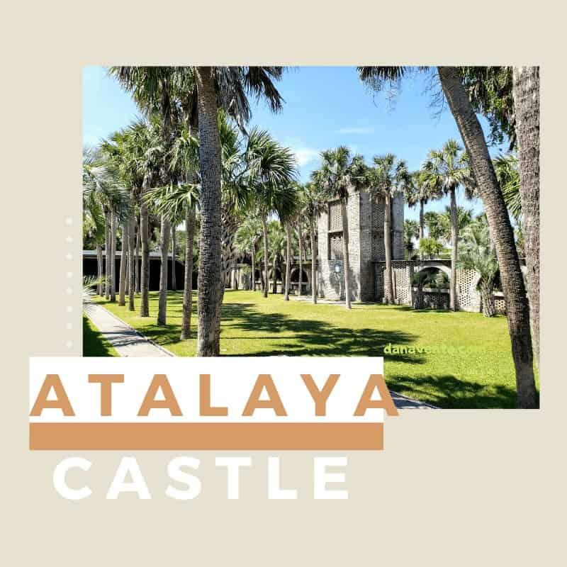 Atalaya Castle in Huntington Beach South Carolina