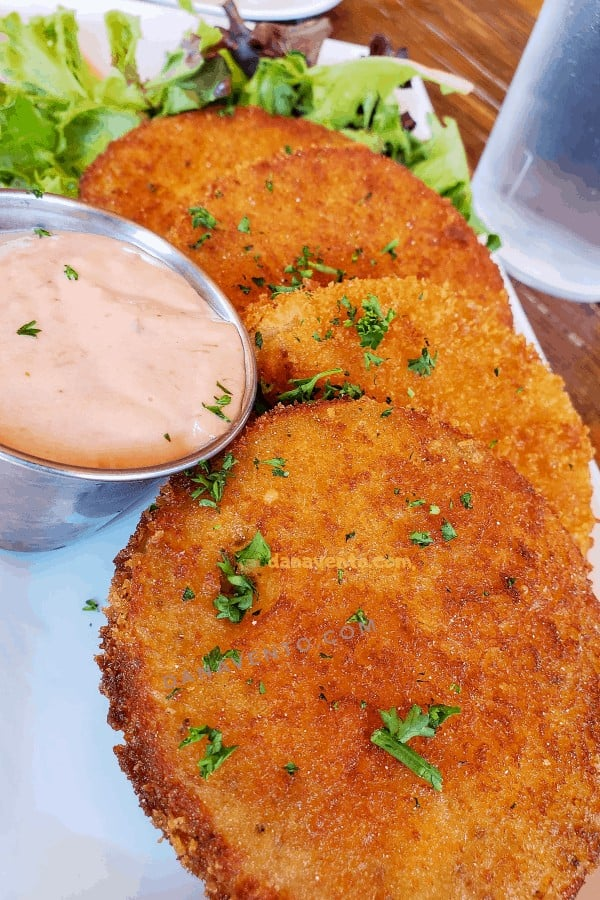 Fried Green Tomatoes are Southern Comfort Eats at Rustic Table