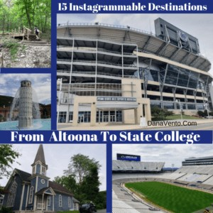 15 Instagrammable Destinations From Altoona To State College