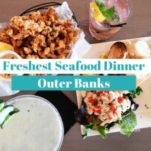 Freshest Seafood Dinner in the Outer Banks
