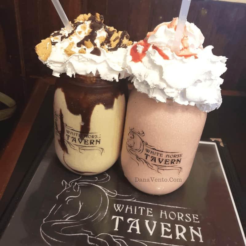 Signature milkshakes in Harpers Ferry