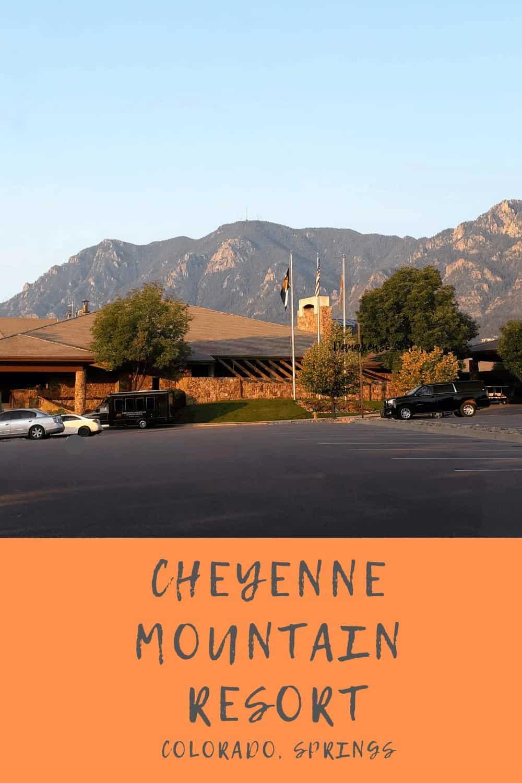 Front of Cheyenne Resort in Colorado Springs