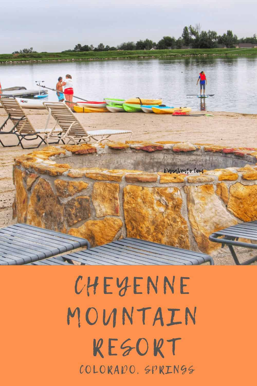 On lake at Cheyenne Resort