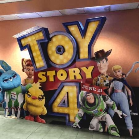Toy Story 4, Woody, Forky, Bo Peep