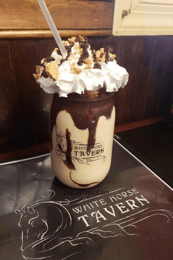 Signature Milkshakes in Harpers Ferry Chocolate