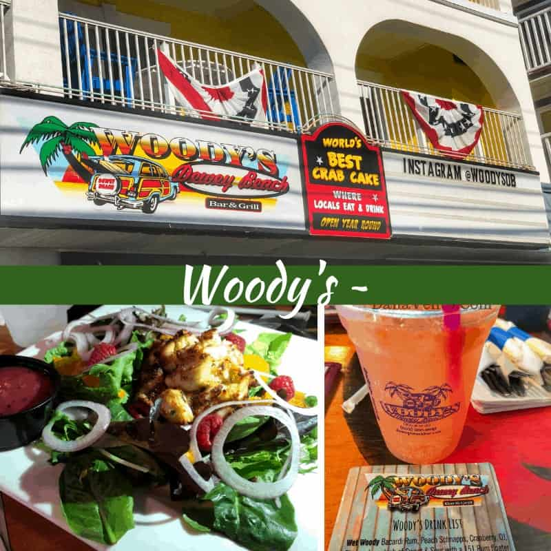 Southern Delaware Beach Town Eats: Discover 5 yummy options: woody's Dewey Beach