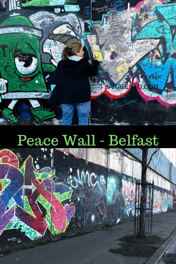Belfast Peace Wall.