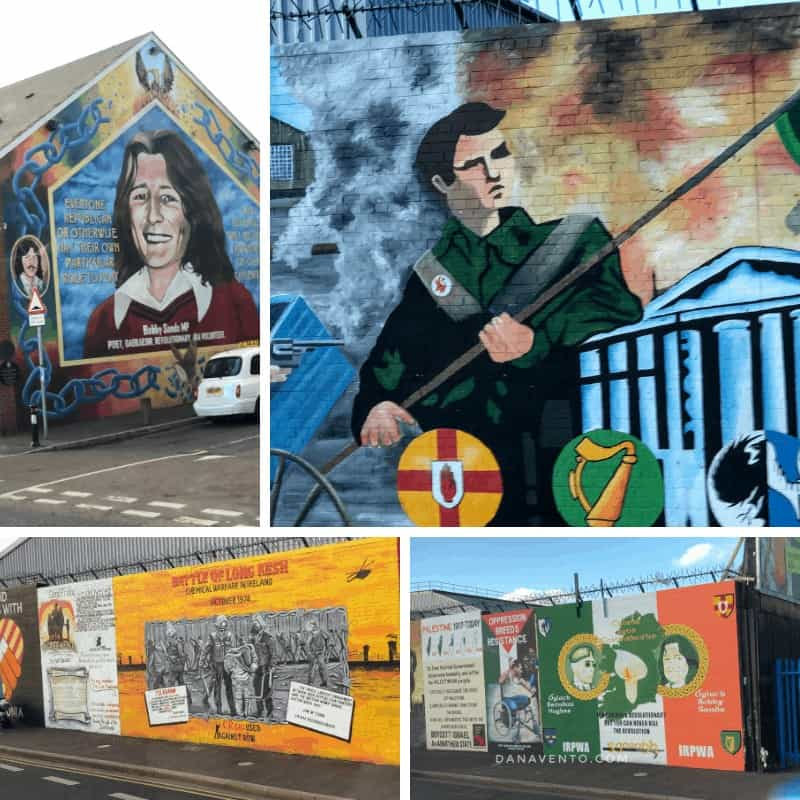 the peoples gallery of murals in derry