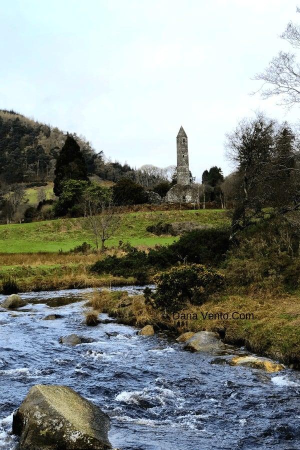 Discover Ireland. Glendalough Monastic + tower