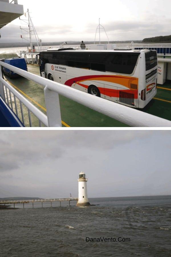 Ferry Ride in Ireland