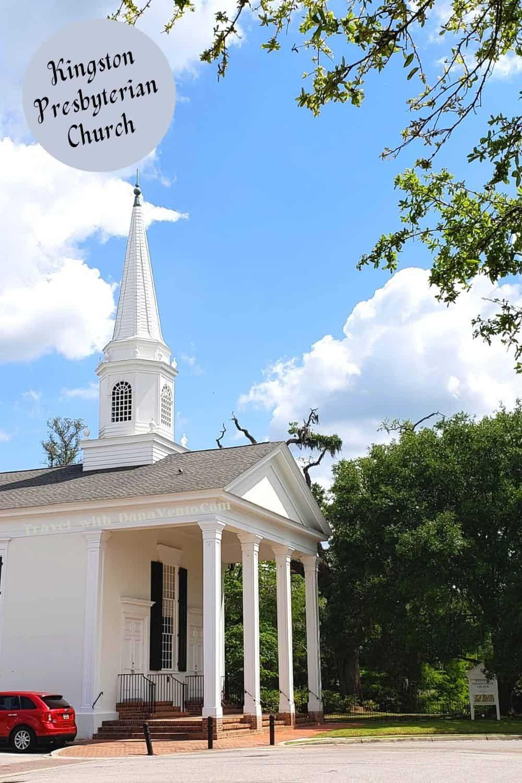 Kingston Presbyterian Church in Conway via Myrtle Beach