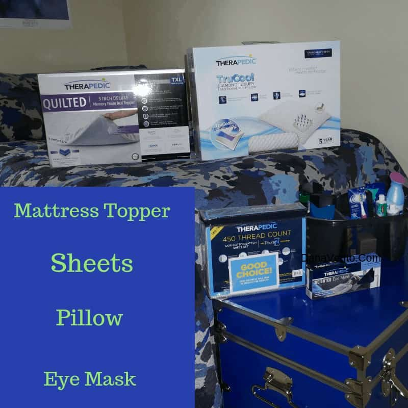 Products for dorm room mattress toppers, etc