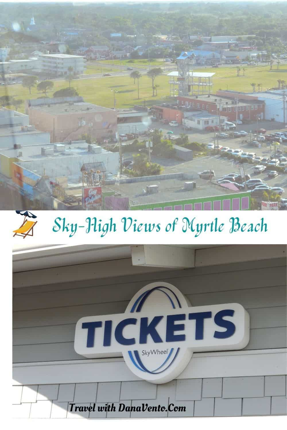 Sky High Myrtle Beach Adventure Buildings and Ticketing booth