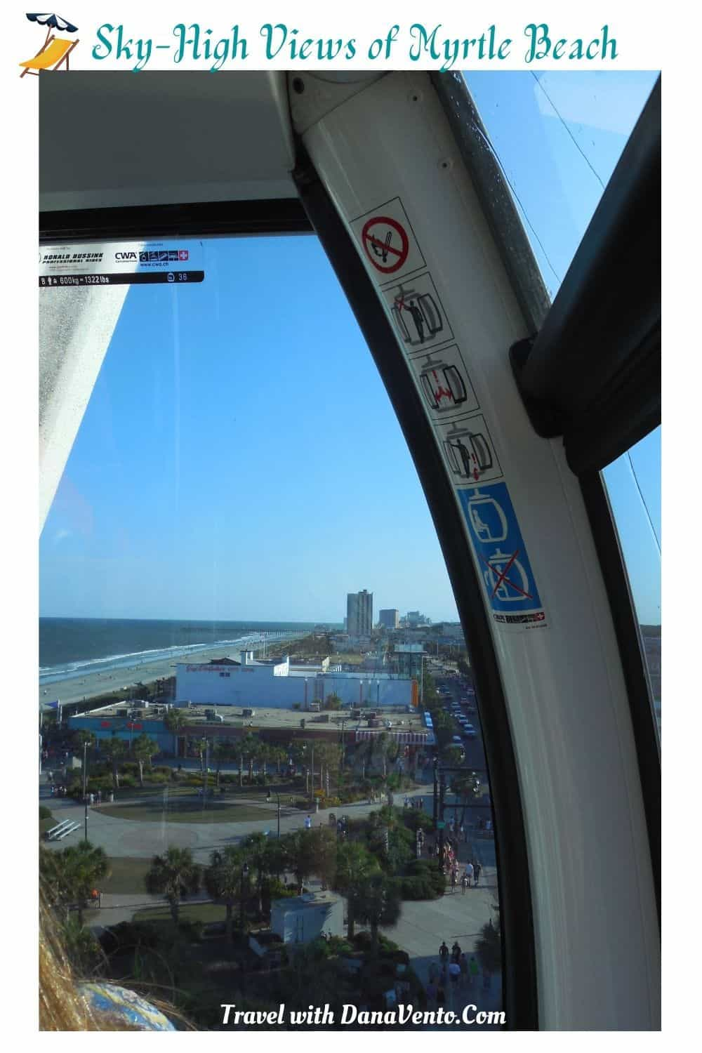 Sky High Views of Myrtle Beach Inside Gondola