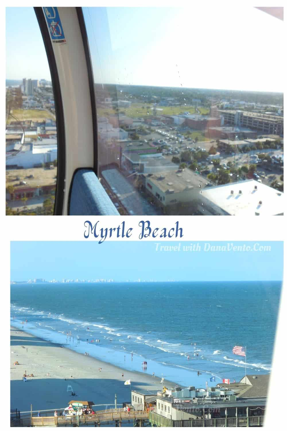 Sky High Views of Myrtle Beach Inside SkyWheel Gondola Images