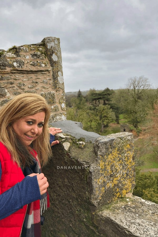 Me at the top of Blarney Castle
