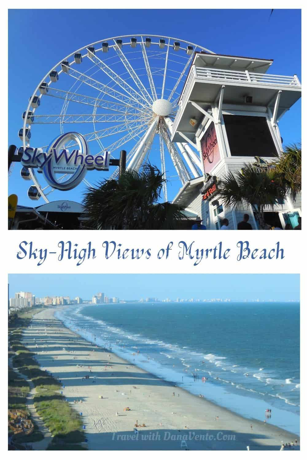 Sky High Views of Myrtle Beach SkyWheel Image and Beach