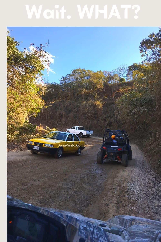 2 way traffic 4x4 Cuale River adventure