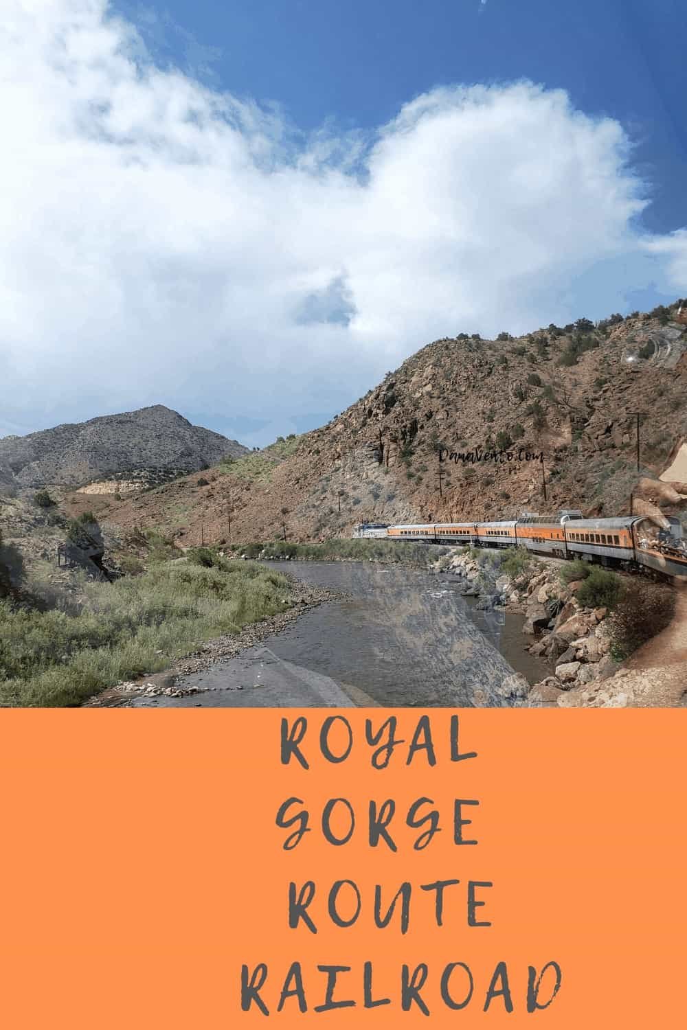 Scenery along the Royal Gorge Route RR Ride