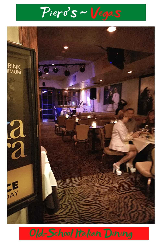 Vegas Old School Italian Dining. Classic Booths
