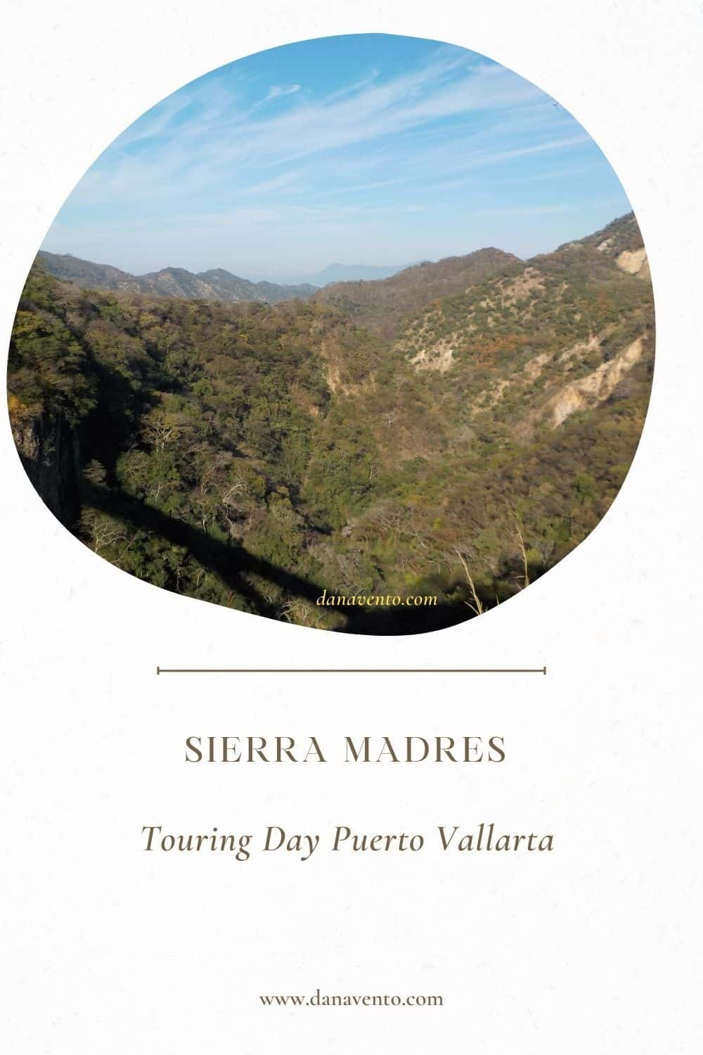 view from top of Sierra Madres