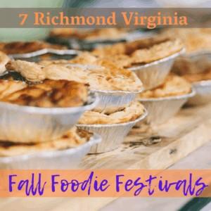 7 Road Trip-Worthy Richmond Virginia Fall Foodie Festivals