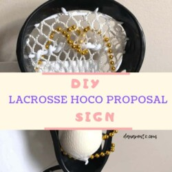 DIY Lacrosse Homecoming Proposal Sign, materials, how to, step by step, versary, what to say, when, tips, tricks, how to, diy easy, diy highschool, diy college, lacrosse, lax, balls, fasteners, project, date, will you go, decor, simple project, use for prom. prom and hoco, homecoming and prom, prom, hoco, idea for lax player, LAX, LaCrosse