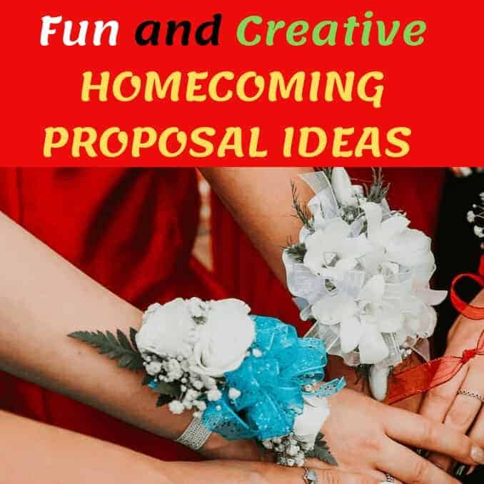 Fun and Creative Homecoming Proposal Ideas