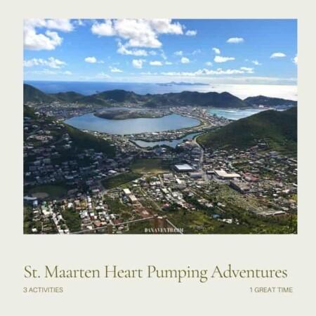 St Maarten activities for thrillseekers from top of Rainforest Adventures
