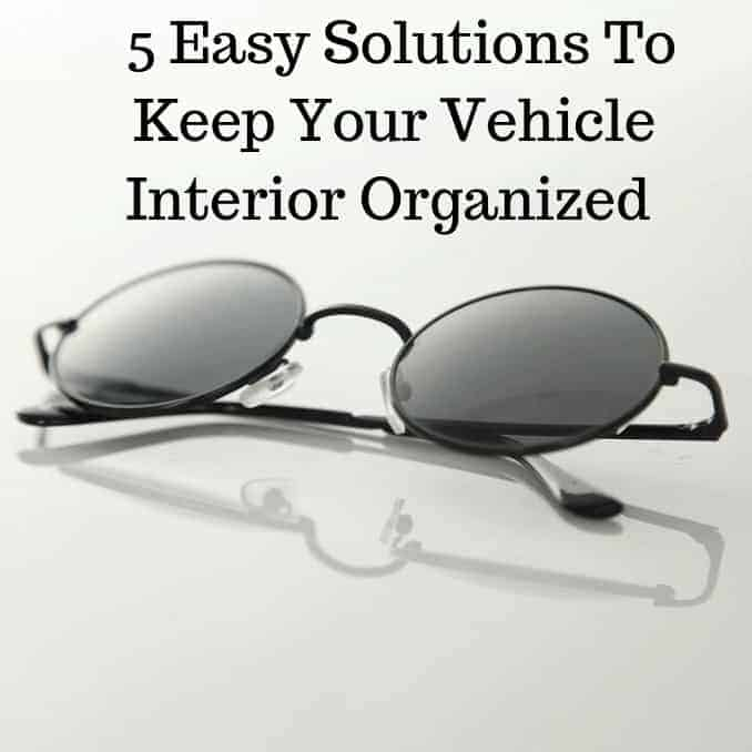 5 easy solutions to keep your vehicle interior organized, sunglasses, hats, keys, phones, change, wallet, trash, water bottles and more, interior, car interior, organization, holders, clips, clamps, front seat, backseat