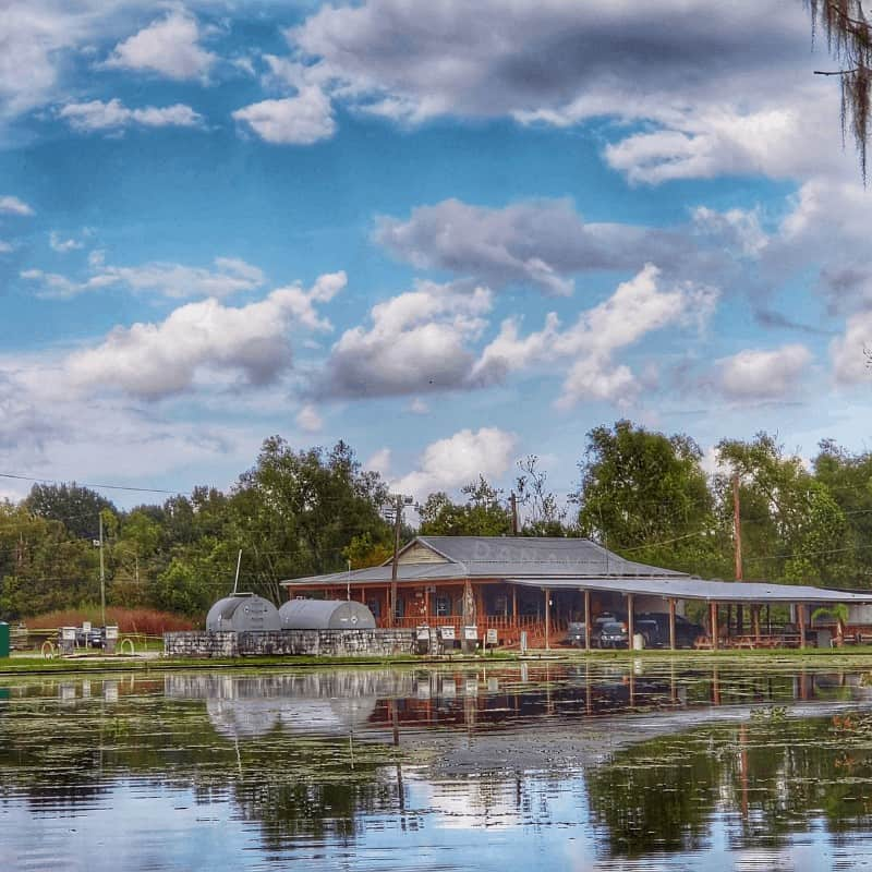 swamp boat tour in Bayou Country - where your journey starts