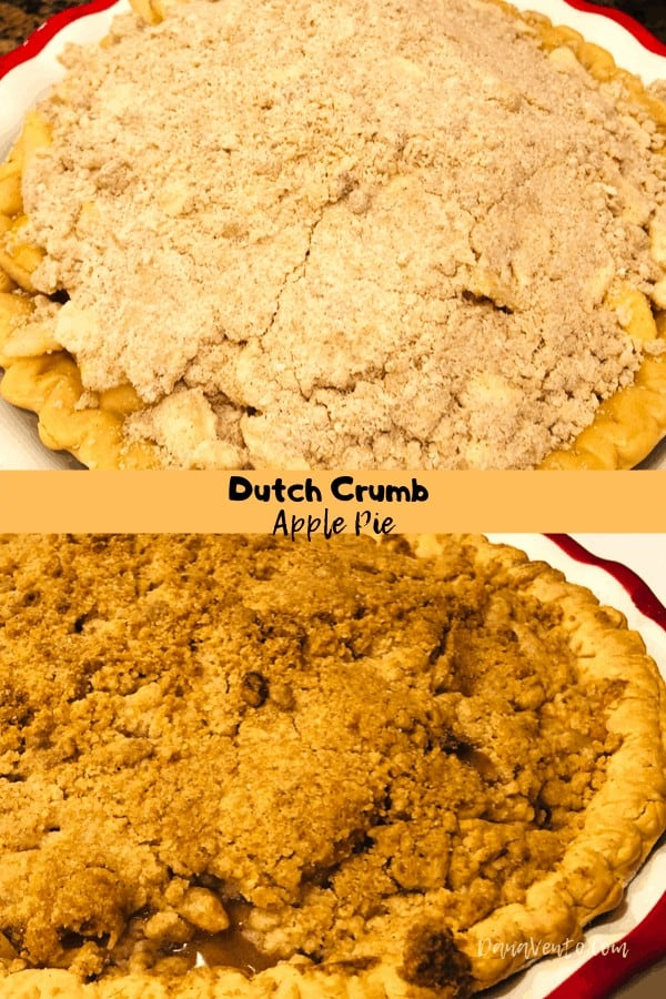 Delicious and Easy Dutch Crumb Apple Pie, pie, apple pie, Fall, Fresh Apples, Any apples, sweet, crunchy, dessert, treates, pie baking, homemade, self taught, home chef, pro chef, cook, baking, fall baking, using apples, desserts with apples, appe desserts, peel, cook, bake in the oven, cinnamon, sugar, pie crust, fast and easy, always good, freeze one, make 2 freeze one, easy, easy to recreate recipe, baking recipe, summer, Fall, Winter, Spring, take to party, Thanksgiving Dessert