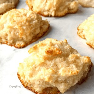 Easiest Ever Chewy Coconut Macaroons